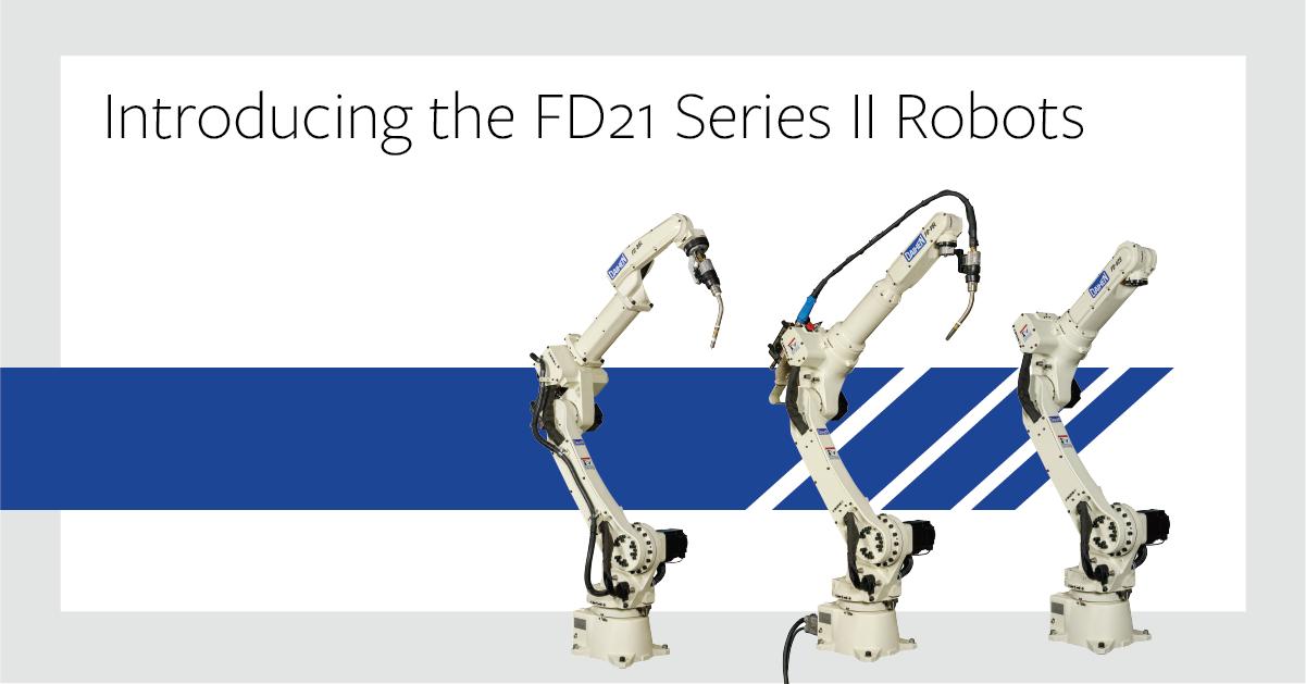 OTC DAIHEN FD21 Series II Robots