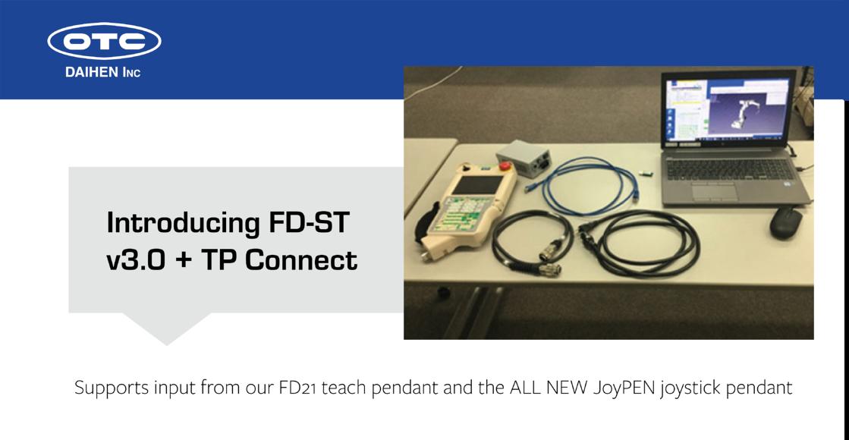 OTC DAIHEN FD-ST v3.0 + TP Connect
