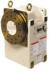 OTC DAIHEN headstock and tailstock positioner used for robotic welding