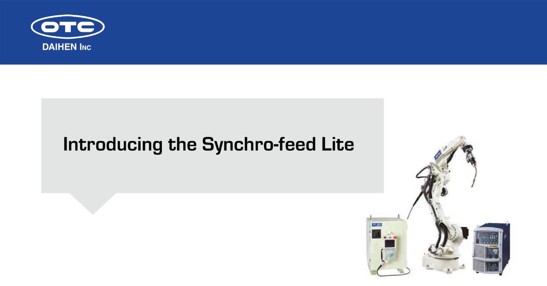 OTC DAIHEN Synchro-feed Lite